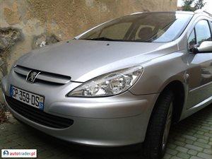 Peugeot 307 2.0 2003 r.,   11 800 PLN