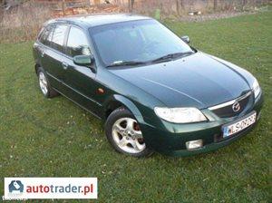 Mazda 323F 1.6 2001 r. - zobacz ofertę