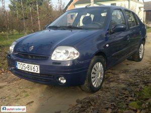 Renault Thalia 1.4 2001 r. - zobacz ofertę