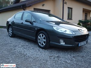Peugeot 407 1.6 2006 r.,   17 900 PLN