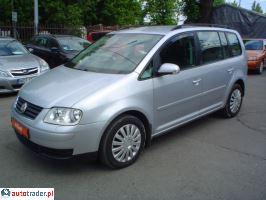 Volkswagen Touran I (2003-2010) 2.0 TDi automat Comfortline DOIN 2005r. - zobacz ofertę