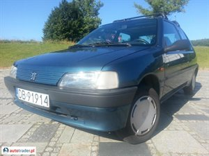 Peugeot 106 1.1 1996 r. - zobacz ofertę