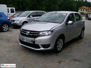 Dacia Sandero 1.0 2012 r.,   21 500 PLN