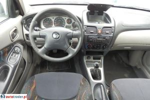 Nissan Almera 2001 1.5 90 KM