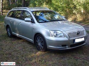 Toyota Avensis 2.0 2004 r. - zobacz ofertę