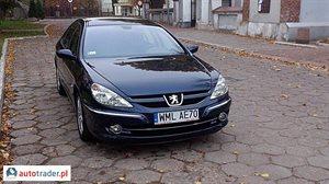 Peugeot 607 2.7 2006 r. - zobacz ofertę
