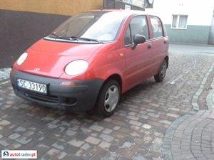 Daewoo Matiz 0.8 2003 r. - zobacz ofertę