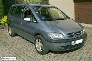 Opel Zafira 2.0 2005 r.,   15 000 PLN