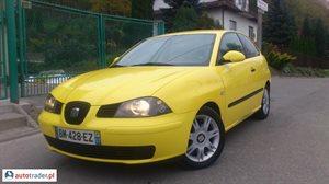 Seat Ibiza 1.9 2004 r.,   12 300 PLN