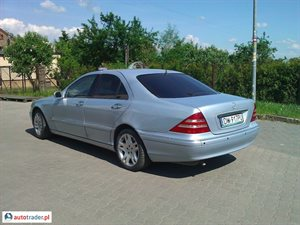 Mercedes S-klasa 2000 3.2 224 KM