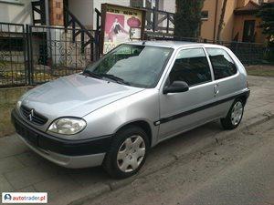 Citroën Saxo 1.1 2002 r. - zobacz ofertę