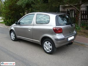 Toyota Yaris 2003 1.4 75 KM