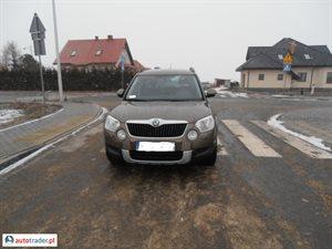 Skoda Yeti 2.0 2011 r. - zobacz ofertę