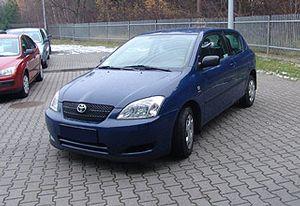 Toyota Corolla 1,4 hatchback 1.4 2003 r. - zobacz ofertę