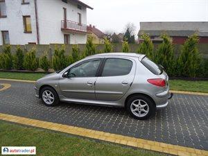 Peugeot 206 2005 1.4 74 KM