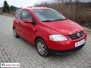 Volkswagen Fox 1.2 2010 r. - zobacz ofertę