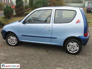 Fiat Seicento 1.1 2002 r. - zobacz ofertę