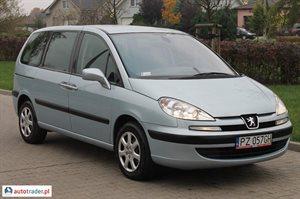 Peugeot 807 2.2 2005 r. - zobacz ofertę