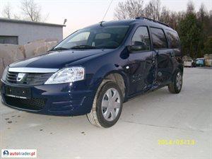 Dacia Logan 1.6 2012 r.,   16 450 PLN