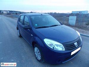 Dacia Sandero 1.4 2010 r.,   12 700 PLN