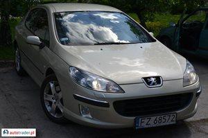 Peugeot 407 2.2 2004 r. - zobacz ofertę
