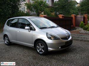 Honda Jazz 1.2 2007 r.,   22 500 PLN