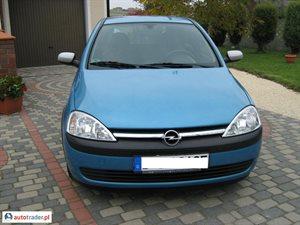 Opel Corsa 1.0 2003 r.,   9 900 PLN