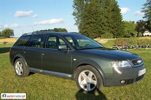 Audi A6 Allroad 2001 r. - zobacz ofertę