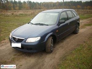 Mazda 323F 2.0 2003 r. - zobacz ofertę