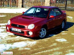 Subaru Impreza 2.0 2002 r. - zobacz ofertę