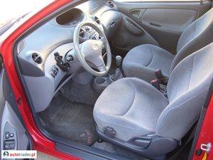 Toyota Yaris 2000 1.0 68 KM