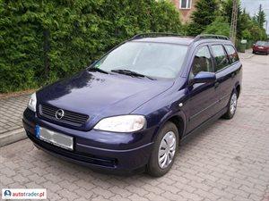 Opel Astra 1.6 1998 r.,   4 990 PLN
