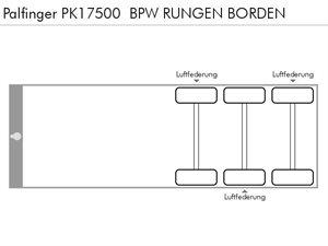 PALFINGER PK17500  BPW RUNGEN BORDEN