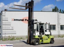 Wózek widłowy CLARK DPL 60  o udźwigu 6 ton DUPLEX - zobacz ofertę