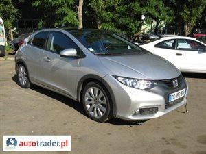 Honda Civic 2.2 2012 r.,   41 900 PLN