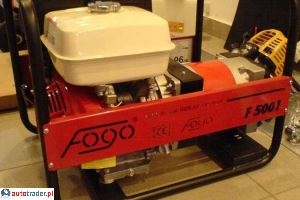 Agregaty  prądotwórcze FOGO FH5001 - zobacz ofertę