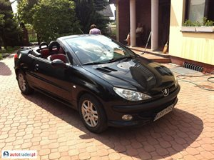Peugeot 206 1.6 2002 r. - zobacz ofertę