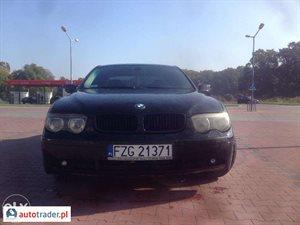 BMW 730 3.0 2003 r. - zobacz ofertę