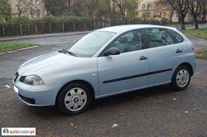 Seat Ibiza 1.2 2002 r.,   10 600 PLN