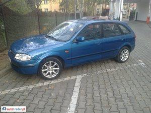 Mazda 323F 1.5 1998 r. - zobacz ofertę