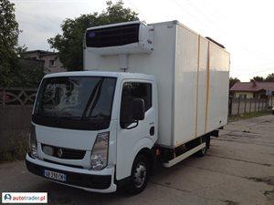 Renault MAXITY, 123 tyś km, 2.5 DCI 130KM 2009 r.,   28 900 PLN