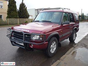 Land Rover Discovery 2.5 2003 r. - zobacz ofertę
