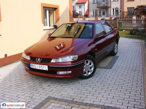Peugeot 406 2.0 2001 r. - zobacz ofertę