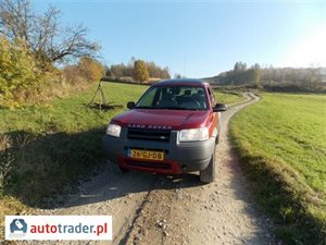Land Rover Freelander 2.0 1999 r. - zobacz ofertę
