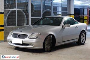 Mercedes SLK 2.0 2002 r. - zobacz ofertę