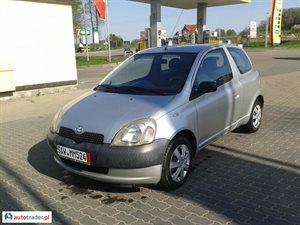 Toyota Yaris 1.0 2002 r.,   8 900 PLN