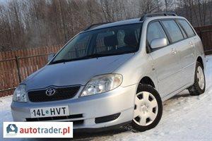 Toyota Corolla 2.0 2004 r. - zobacz ofertę