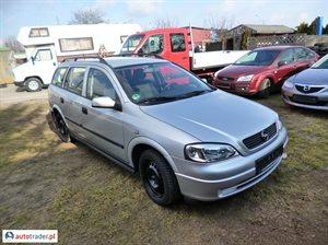 Opel Astra 1.6 1999 r.,   5 500 PLN