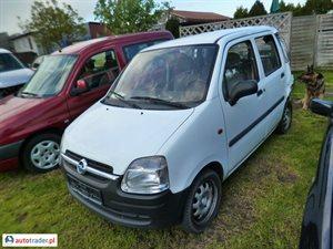 Opel Agila 1.0 2002 r. - zobacz ofertę