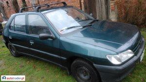 Peugeot 306, 1992r.,   1 100 PLN